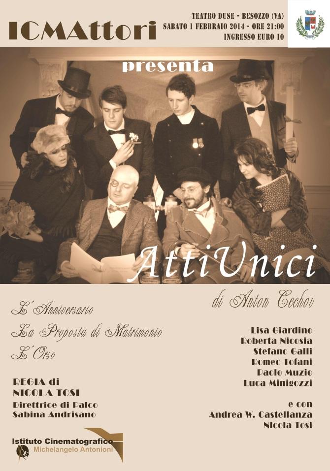 Domenica prossima (1 febbraio 2014) al Teatro Duse di Besozzo!