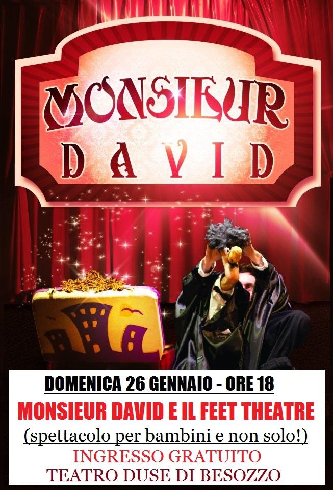Monsieur david MODIFICATA