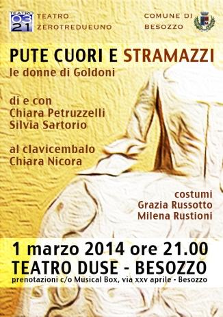 Sabato 1 marzo 2014, al Teatro Duse di Besozzo!