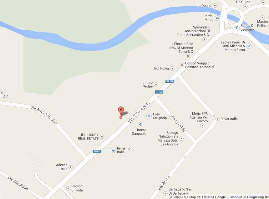 Duse mappa google