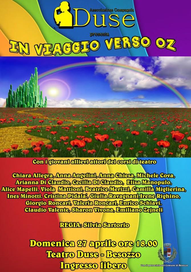 Domenica 27 aprile 2014, al Teatro Duse di Besozzo!