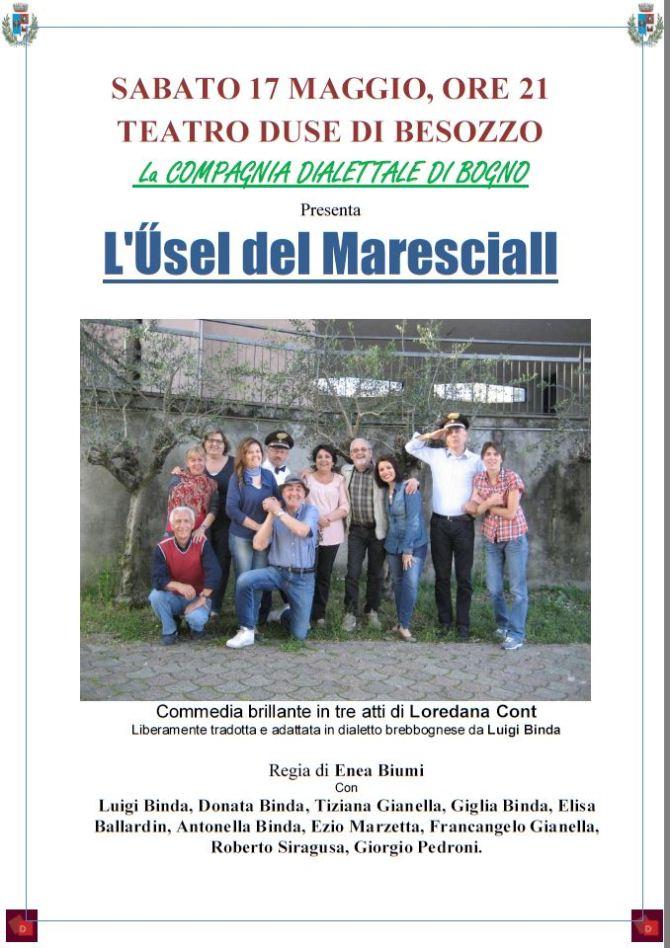 Sabato 17 maggio 2014, al Teatro Duse di Besozzo!