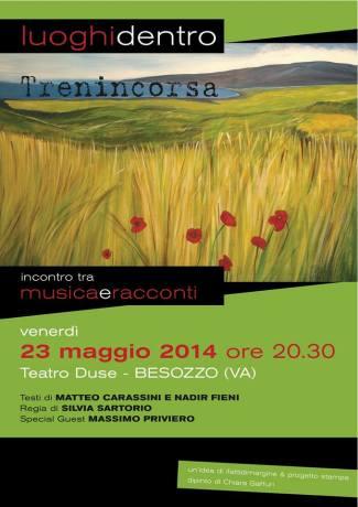 Venerdì 23 maggio 2014, al Teatro Duse di Besozzo!
