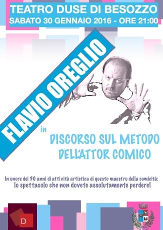 Locandina Flavio Oreglio
