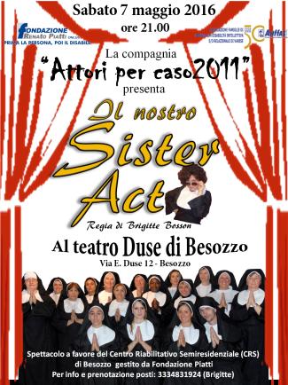 locandina SisterAct Besozzo 7-05-2016